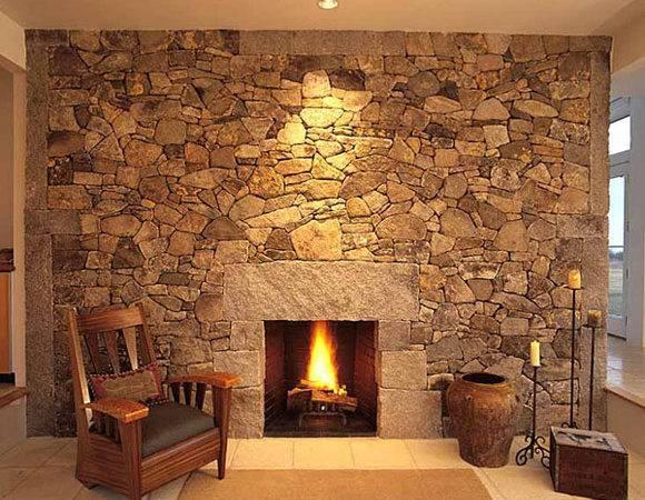 Stone Fireplace Design Ideas Adjust According