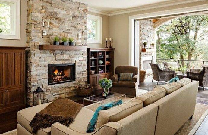 Stone Fireplace Ideas Cozy Nature Inspired Home Love