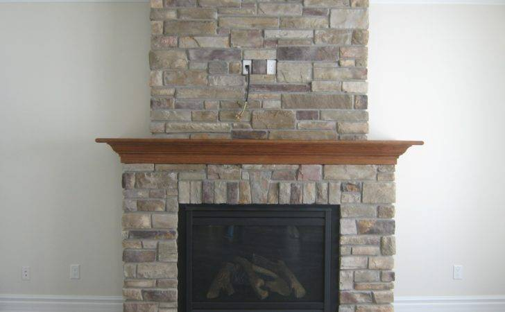 Stone Fireplace Surrounds Veneer Diy Stacked