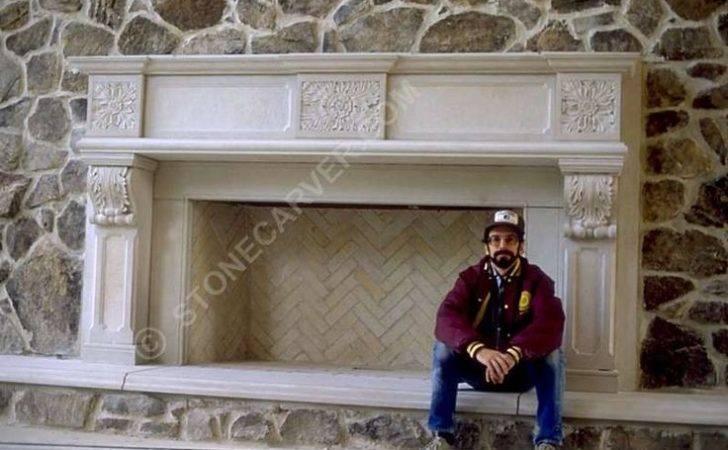 Stone Fireplaces Mantel Building Home Interiors Decorati