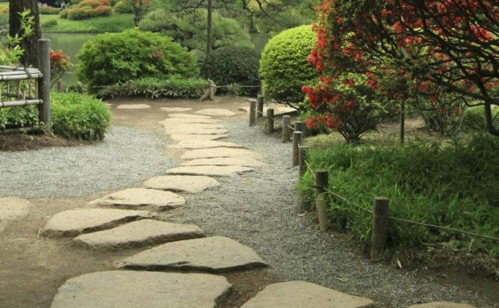 Stone Footpath Perfect Japanese Garden Stones Help