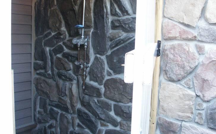 Stone Shower Walls Get Domain Getdomainvids