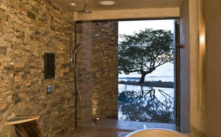 Stone Shower Walls Instant Trick Transform Flat