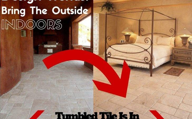 Stone Trends Outside Comes Indoors Durango