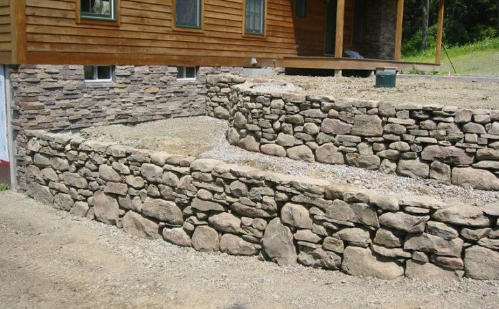 Stone Wall Field Pillars Retaining Walls