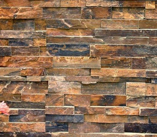 Stone Wall Shower Hizzie Pinterest