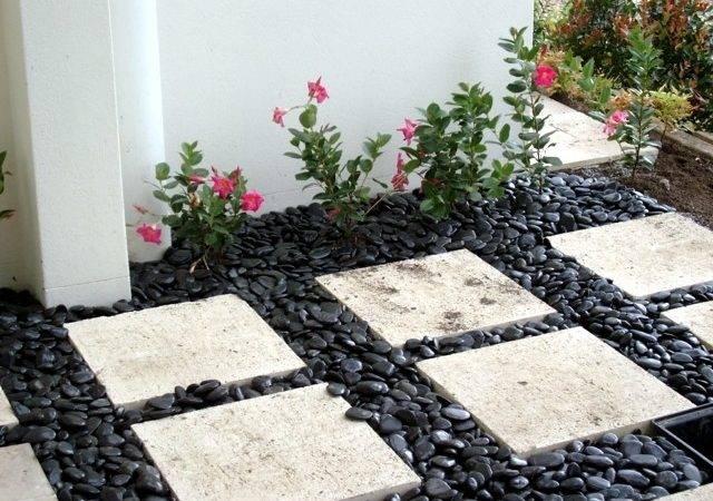 Stones Garden Design Ideas Decorative Outdoor Stepping