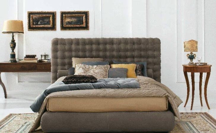 Storage Bed Tufted Headboard Chocolat Twils