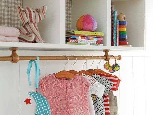 Storage Clothes Rack Shelf Dress Organizando