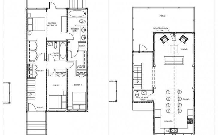 Storage Container House Plans Design