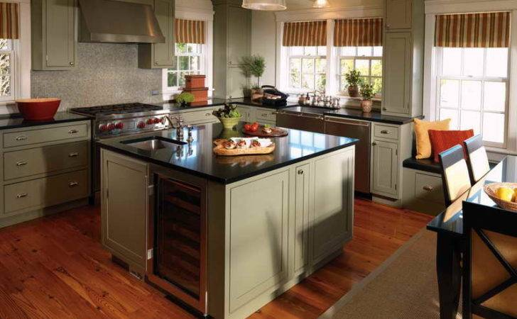 Storage Fancy Kitchen Craft Cabinet Grey Color