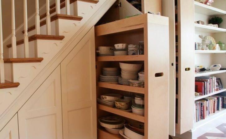 Storage Ideas Under Stairs Design Sponge