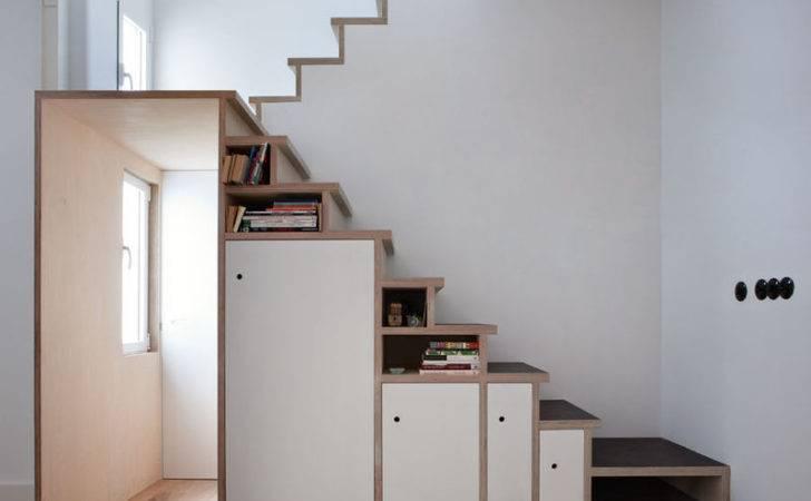 Storage Stuffed Stairways Wooden Cabinet Staircase