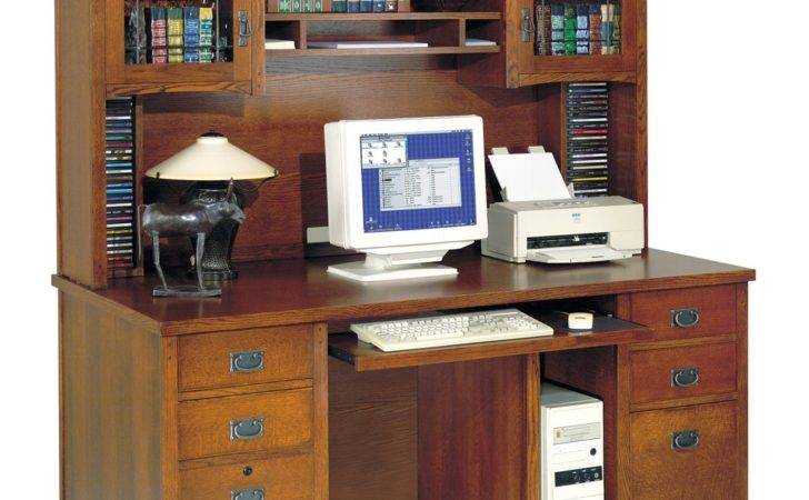 Store Your All Office Items Through Computer Desk