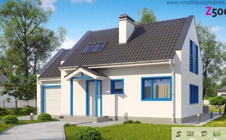 Stores Bedroom Scandinavian House Plan