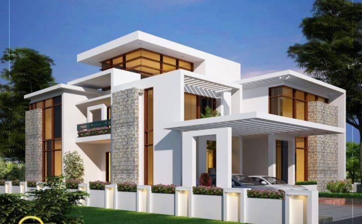 Story Contemporary House Designs Home Plans