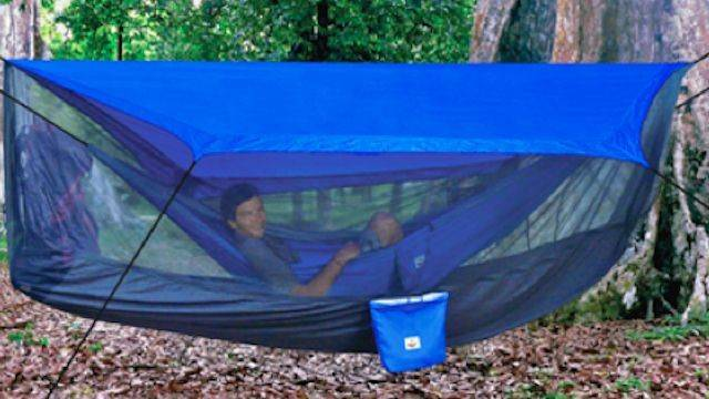 Strangely Awesome Hammock Tent