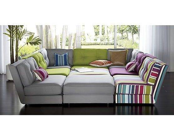 Stripe Sectional Sectionals Sofas