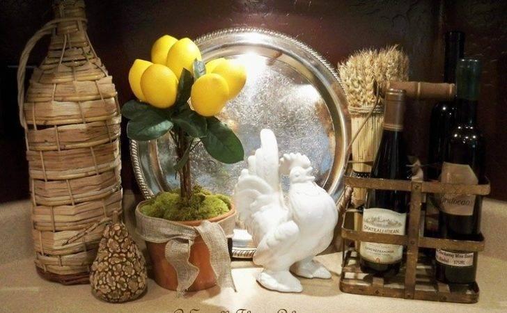 Stroll Thru Life Lemon Topiary Kitchen Decor Pinterest