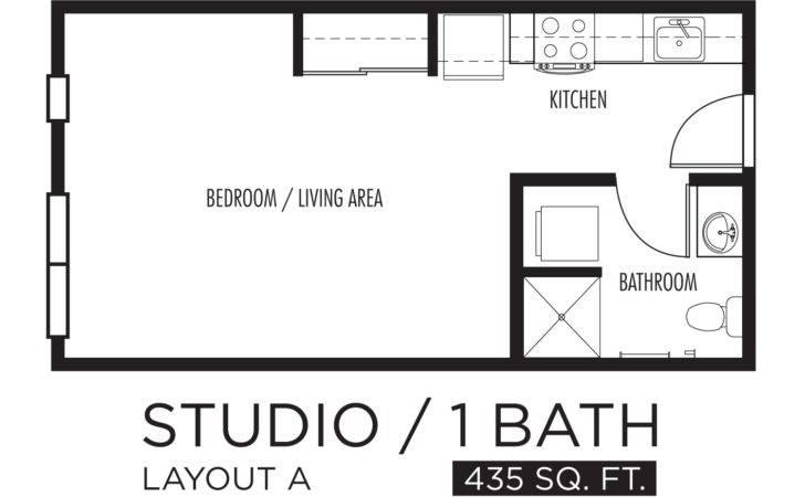 Studio Floor Plans Homes