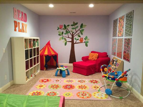 Stunning Basement Playroom Ideas House Design Decor