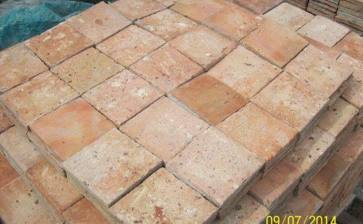 Stunning French Terracotta Floor Tiles Reclaimed France