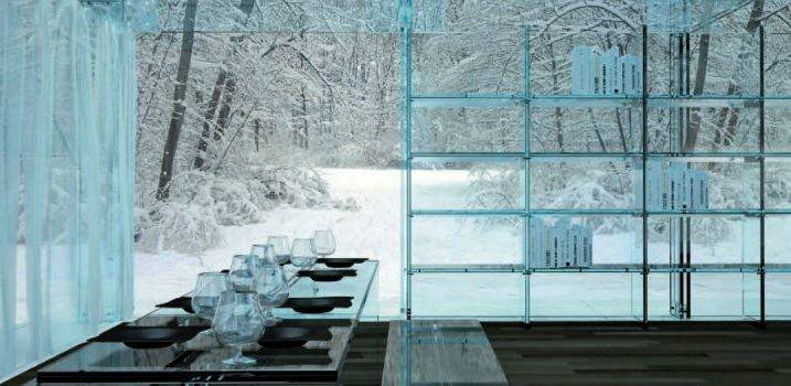 Stunning Glass Ideas Interior Design