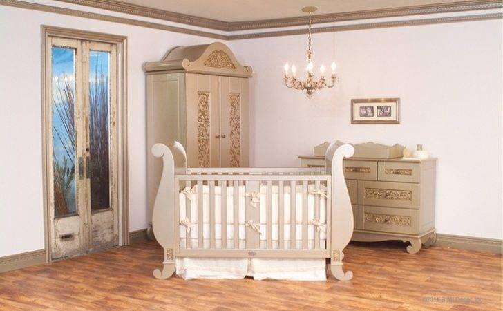 Stunning Luxury Nursery Furniture Girl Rooms Pinterest