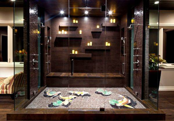 Stunning Steam Shower Showers Some Home Spa Like Luxury