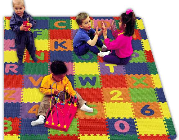 Style Play Learn Tiles Childrens Foam Mats