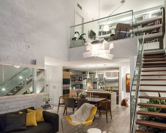 Stylehaus Paramount Bay Stylish Two Story Loft Design District