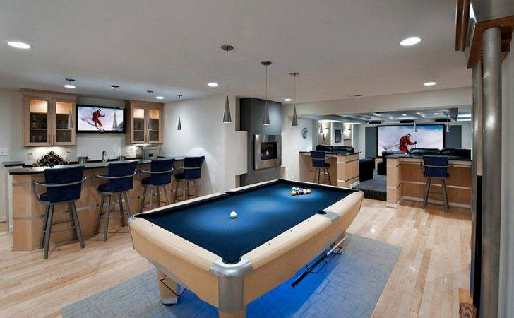 Stylish Basement Bar Cor Ideas Digsdigs