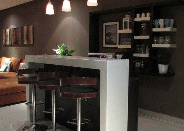 Stylish Contemporary Home Bar Design Ideas Interior Vogue