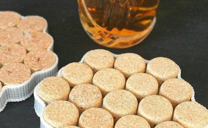 Stylish Diy Wine Cork Coasters Make