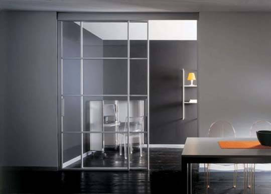 Stylish Interior Sliding Glass Doors Home