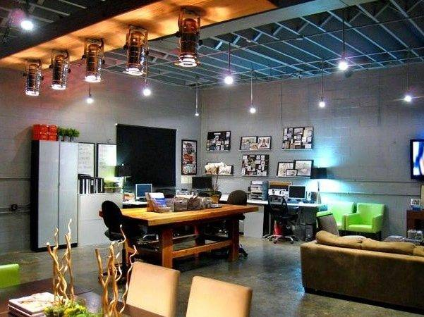 Stylish Office Spaces Cool Warehouse Feel Offices