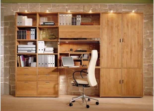 Stylish Study Tables Blend Bedroom Interiors