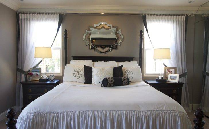 Stylish Transitional Master Bedroom Before After Robeson Design