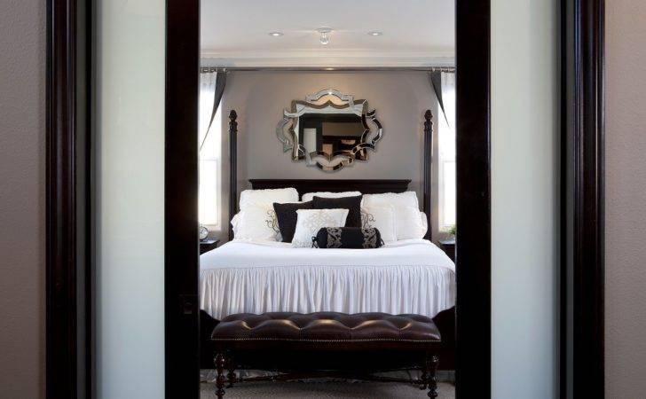 Stylish Transitional Master Bedroom Robeson Design