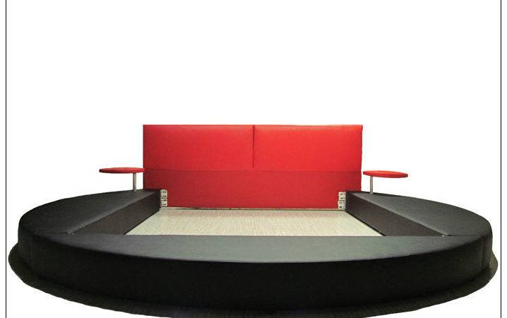 Suiying Bedroom Furniture Modern Round Bed