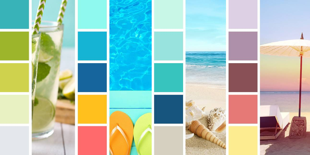 Summer Color Schemes Brighten Your Seasonal Designs