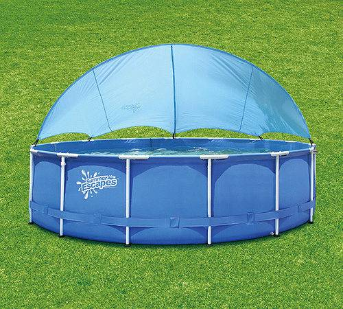 Summer Escapes Canopy Frame Pool Walmart