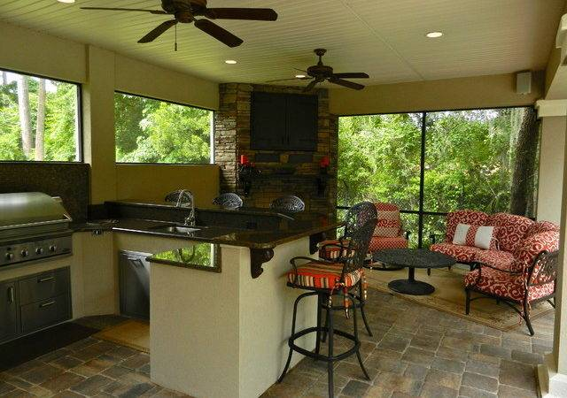 Summer Kitchen Addition Traditional Patio Other Metro