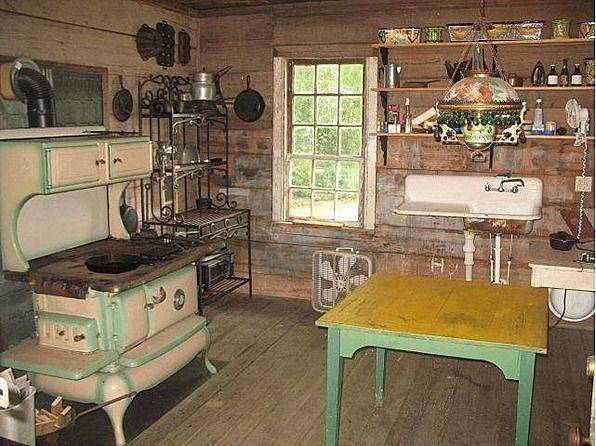 Summer Kitchen Farmhouse Pinterest