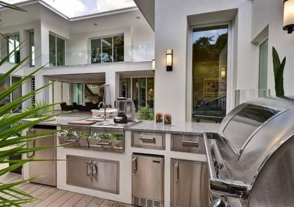 Summer Kitchen Modern Idea Creating Ideal Outdoor