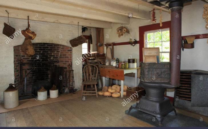 Summer Kitchen Old Farmhouse