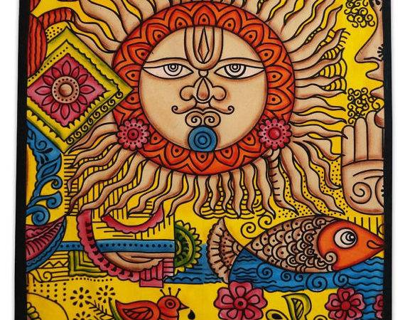 Sun Moon Tapestry Beach Blanket Wall Cor Bedspread Bohemain