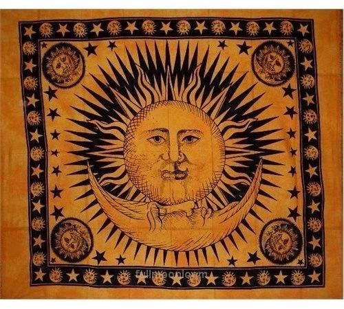 Sun Moon Tapestry Home Pinterest