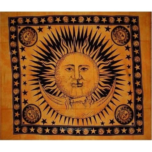 Sun Moon Tapestry Home Pinterest