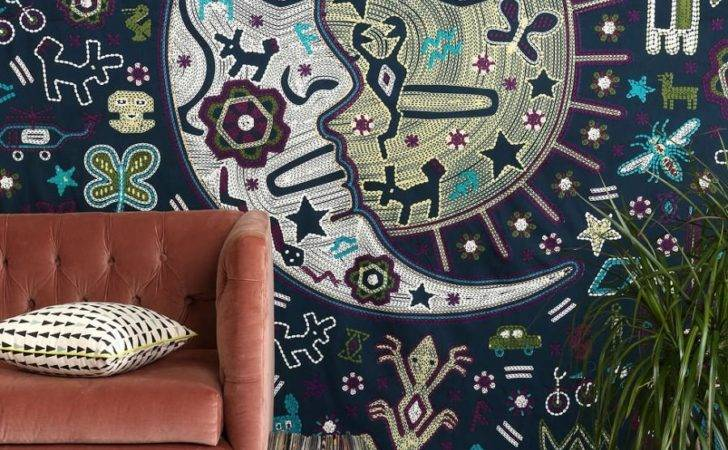 Sun Moon Tapestry Urban Outfitters